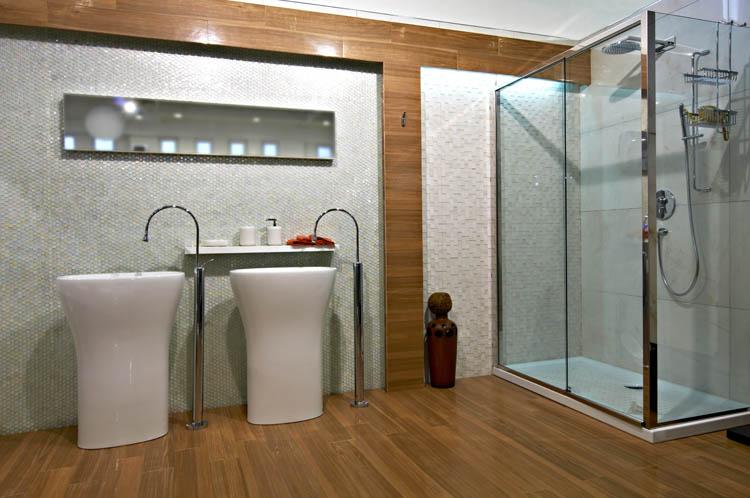 Id es d co et astuces pour relooker sa salle de bain for Idee deco faience salle de bain