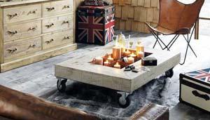 la table basse, plus qu'un meuble
