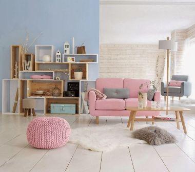d coration int rieure optez pour le rose. Black Bedroom Furniture Sets. Home Design Ideas