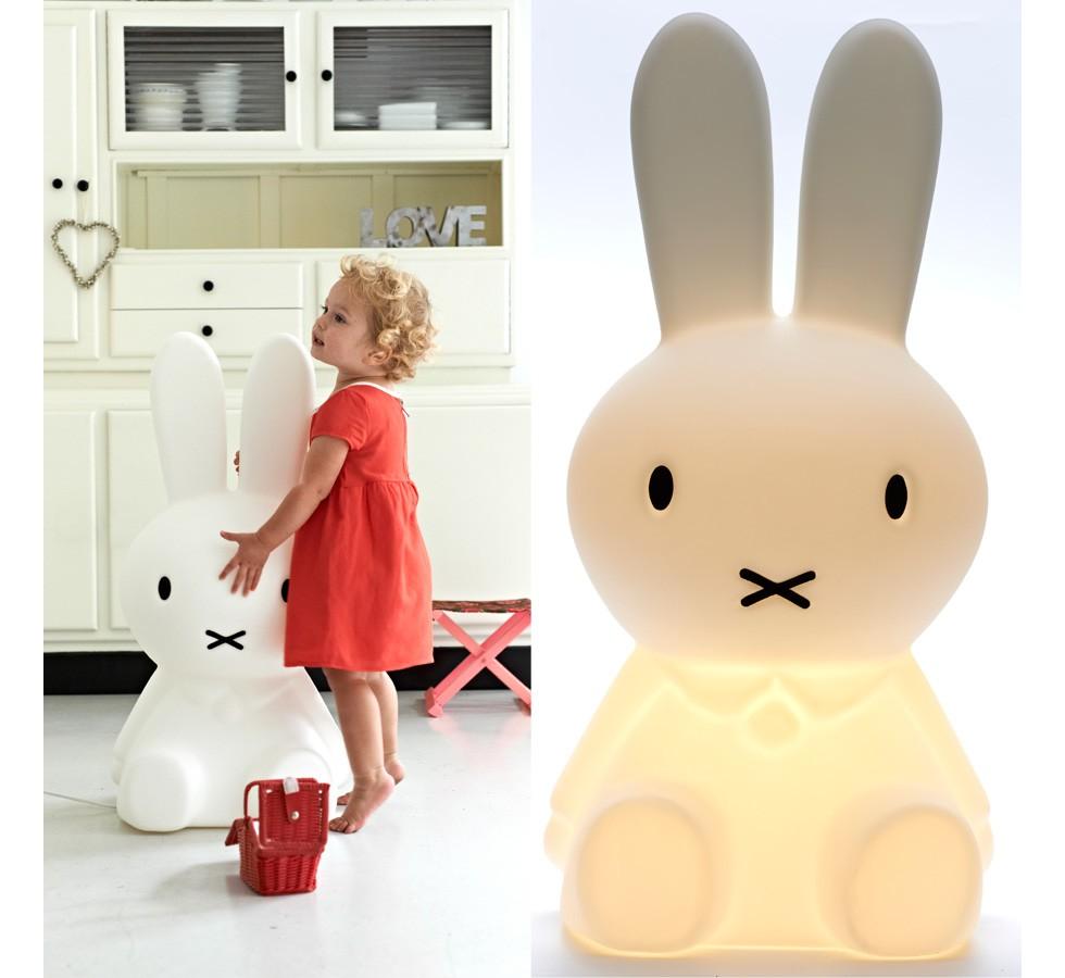 Zoom sur la lampe lapin Miffy : coup de cœur !