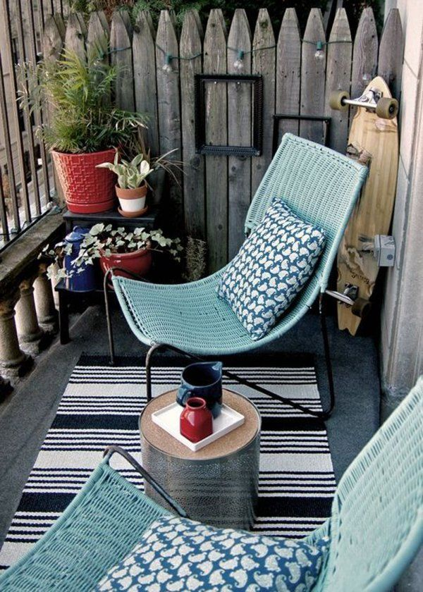 Créer un coin cosy sur son balcon