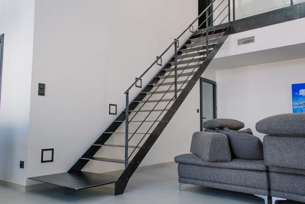 Quelques modèles d'escaliers design