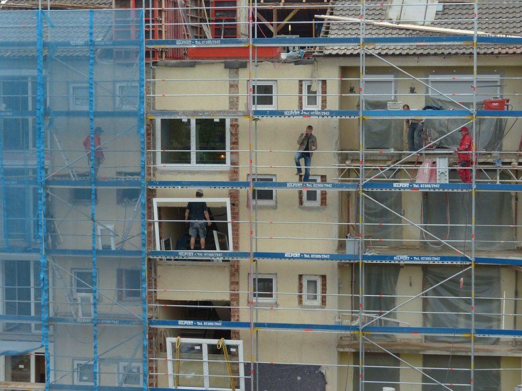Les trois phases d'un ravalement de façade