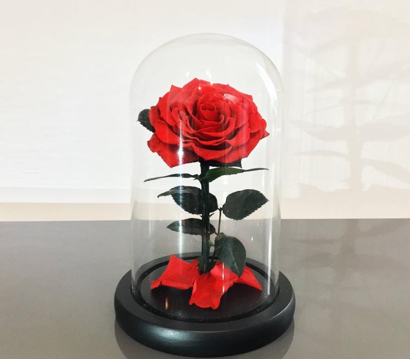 Pour une décoration originale pensez aux roses stabilisées