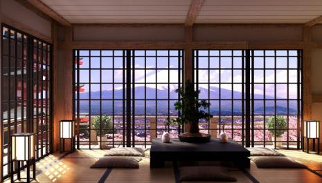 Style japonais dans la décoration intérieure