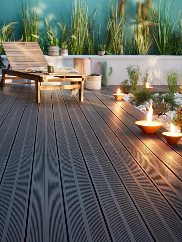 Rénover ou créer une terrasse: le bois composite a le vent en poupe