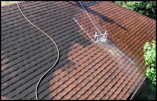 Nettoyage de toiture : quel type de produit de démoussage utiliser ?
